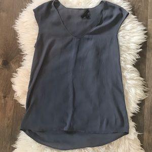 J. Crew basic tank top grey size 2 blouse